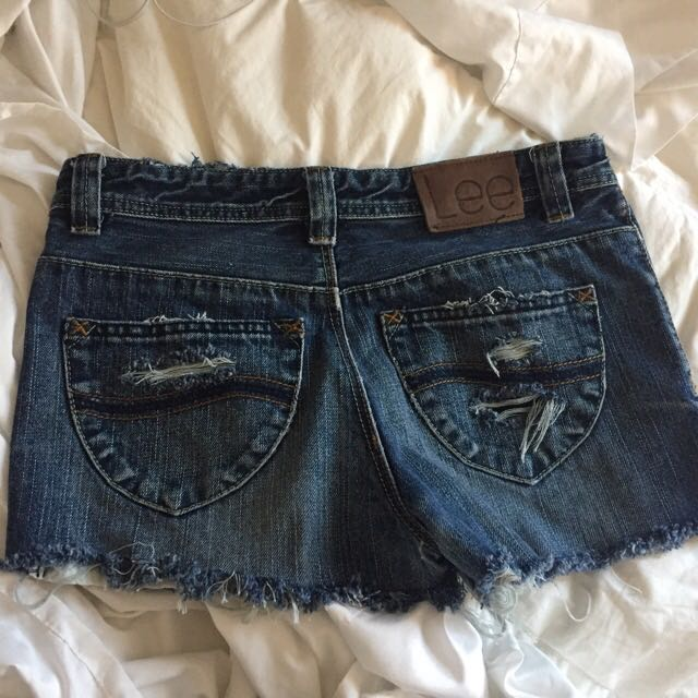 LEE Vintage High Waisted Jean Shorts