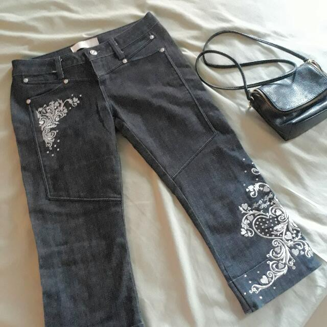 Levi's Lady Style Cropped Jeans