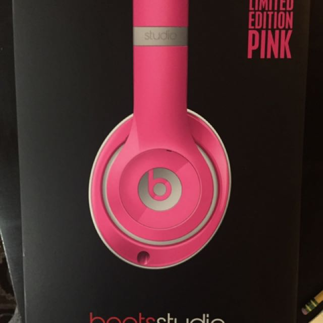 Limited edition pink Dr Dre Beats