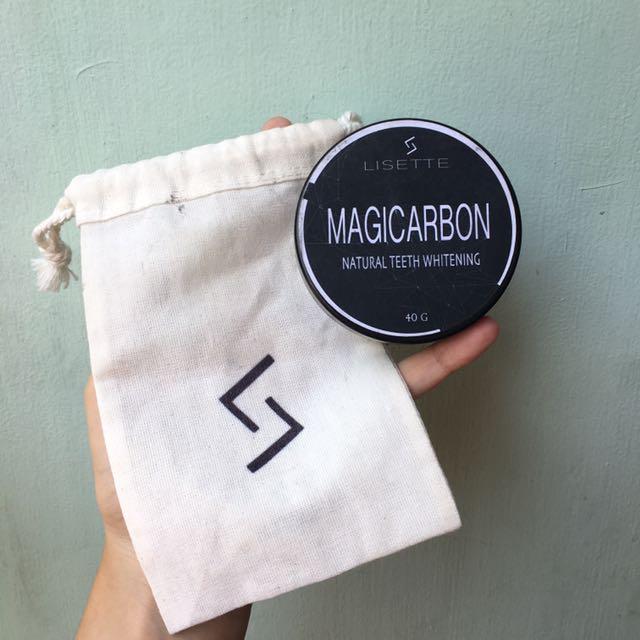 LISETTE Magicarbon Natural Teeth Whitening