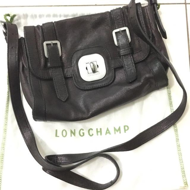 Longchamp Leather Crossbody
