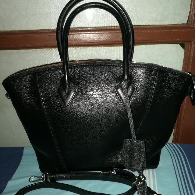 Louis Vuitton Black Handbag Or Sling Bag