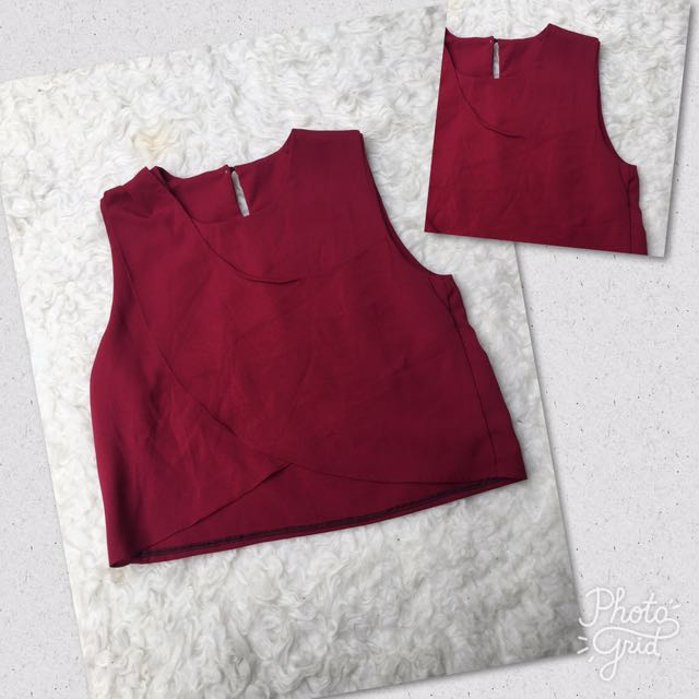 Marron Layer Top
