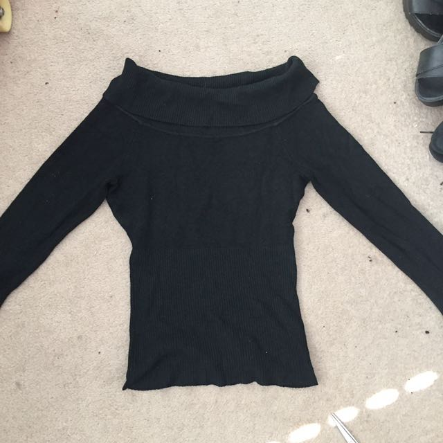 Midlength Turtle Neck Long Sleeve