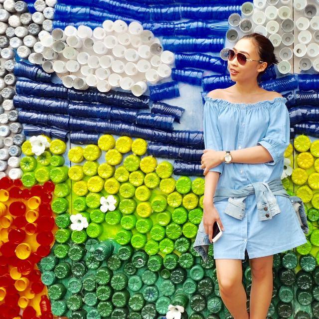 Mini Dress Sabrina Denim