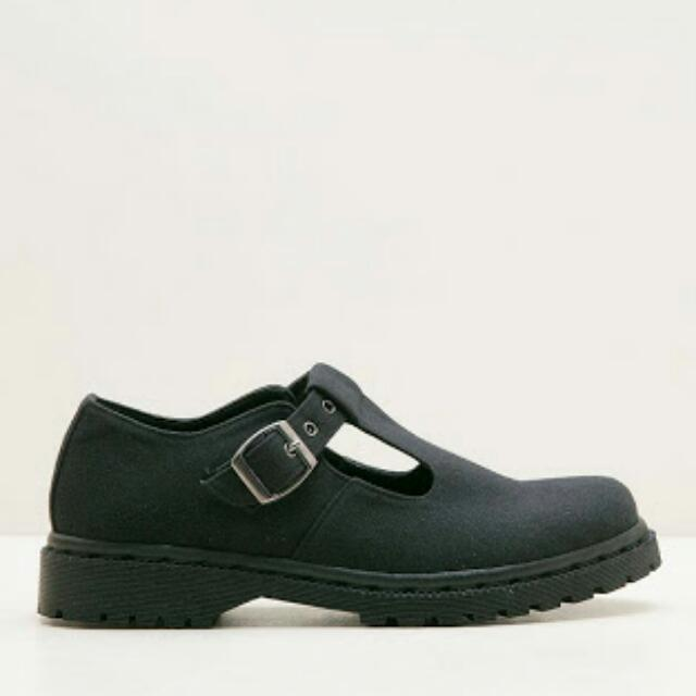 MKS Shoes Mary Jane on Black