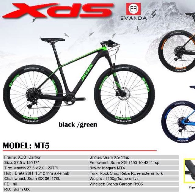 Mountain Bike Xds Mt5 Sports Bicycles On Carousell