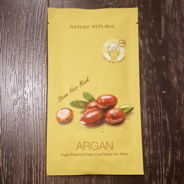 Nature Republic : Argan Steam Hair Mask