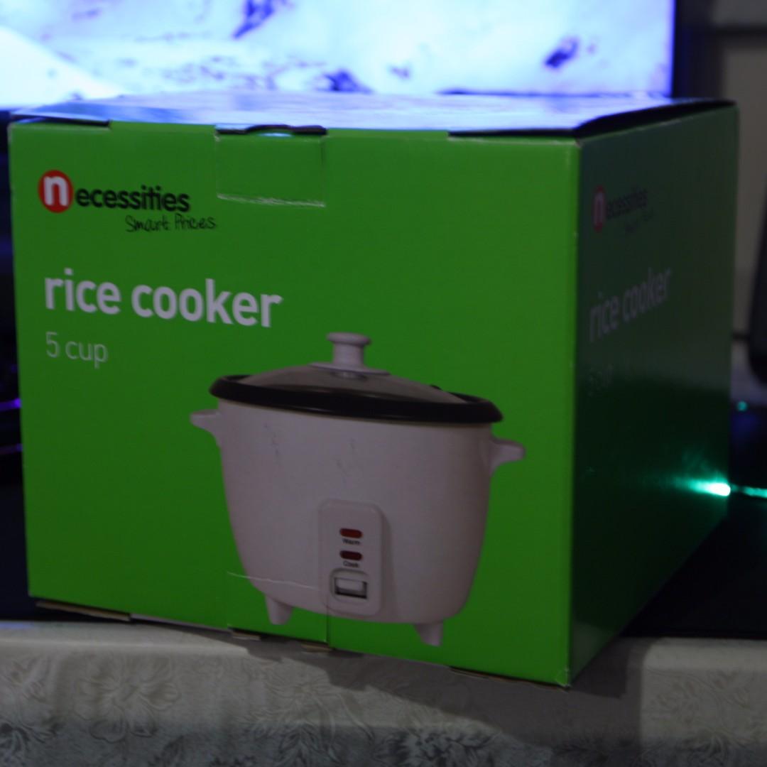 Necessities Brand Rice Cooker (5 Cup)