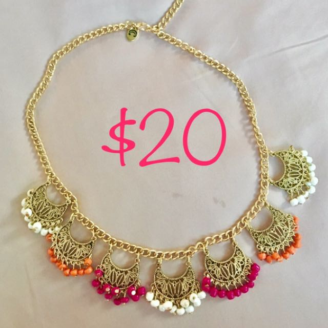 Pretty Color full Necklace