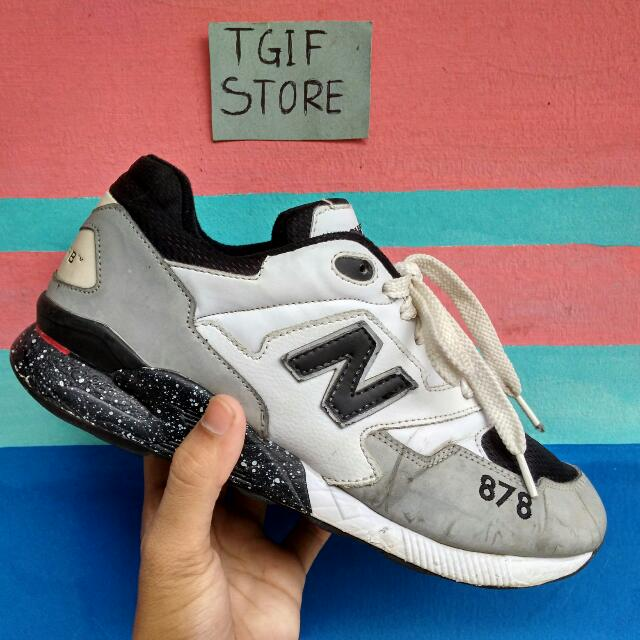a387a75f076a New Balance 878 Abzorb Black White Reflective