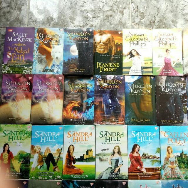 Novel Hisrom Dastan Julia Quinn Lisa Kleypass Johanna Lindsey Julie Garwood