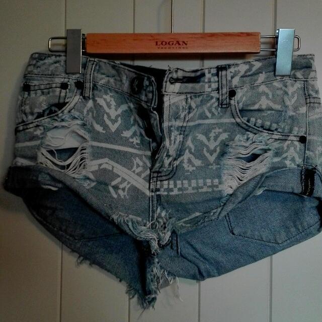 Oneteaspoon Jean Shorts Size 8-9