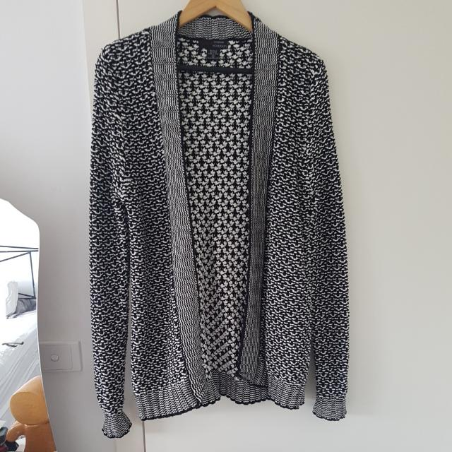 Oversized Knitted  Cardigan - Size S