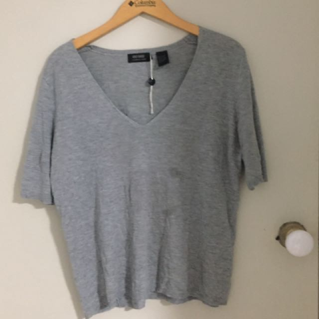 Oxford Cashmere Blend Top Size 12