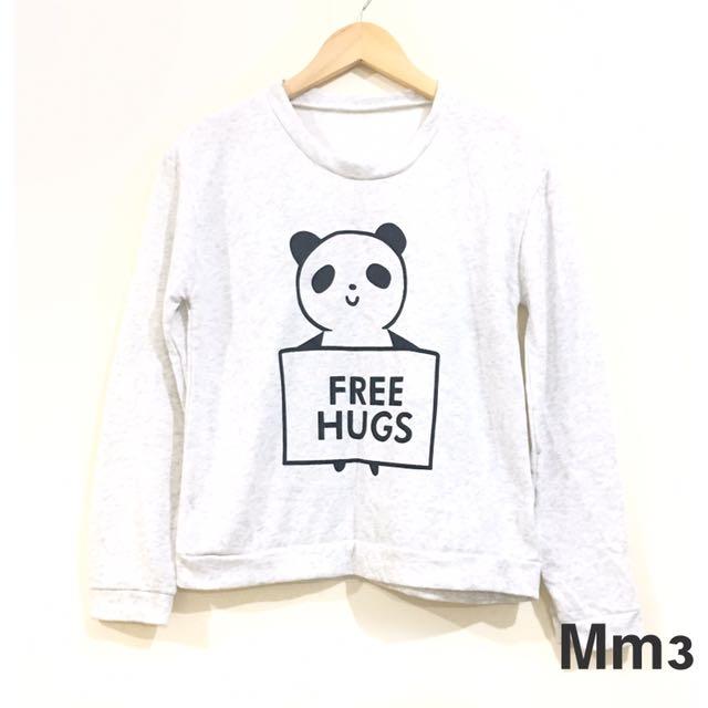 Panda Print Sweater