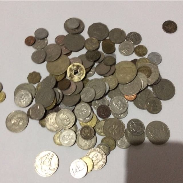 Philippines, Hong Kong & US Old Coins
