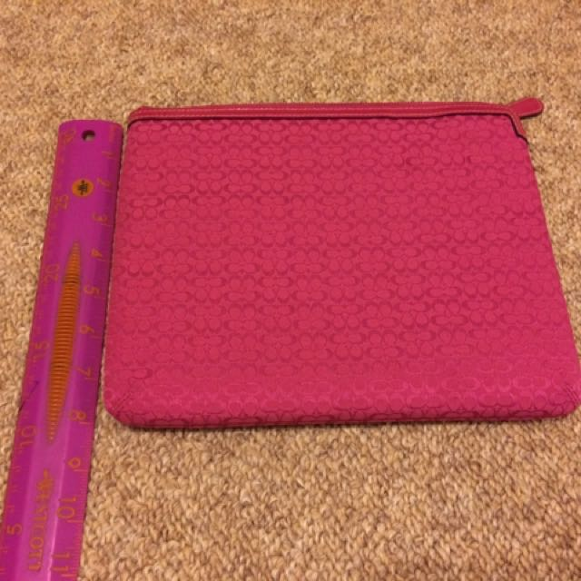 Pink Coach Tablet Sleeve