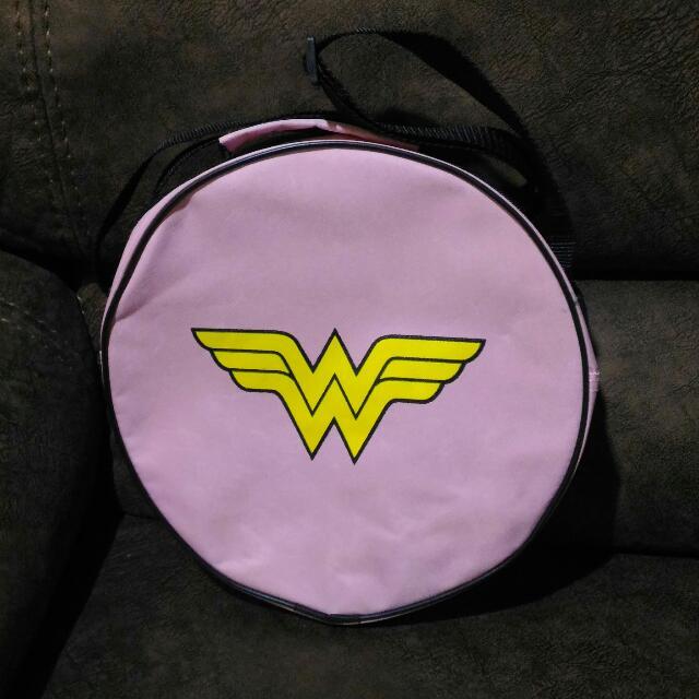 Pink Wonder Woman Bag