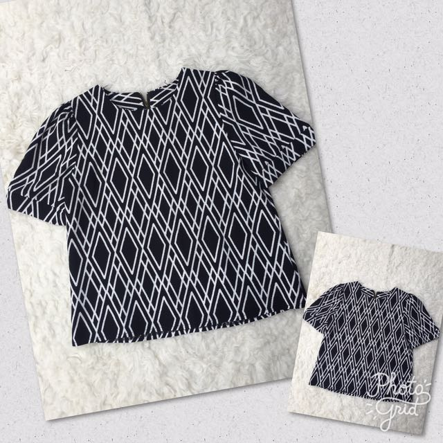 Poly Pattern Top