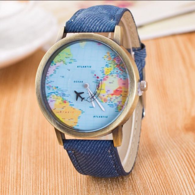 Quartz Maps Watch Series 2037