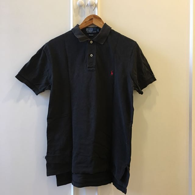 Ralph Lauren Black Poloshirt/Top
