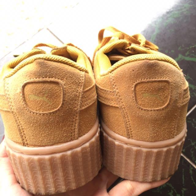 Shoes Sepatu Kets Puma Rihana Tan - Daftar Harga Terkini dan ... 7f50f84927