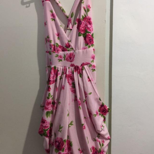 Sexy Floral Dress Korea