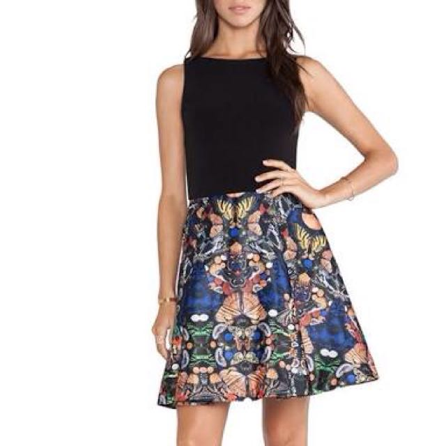 Skirt With Butterfly Design💕