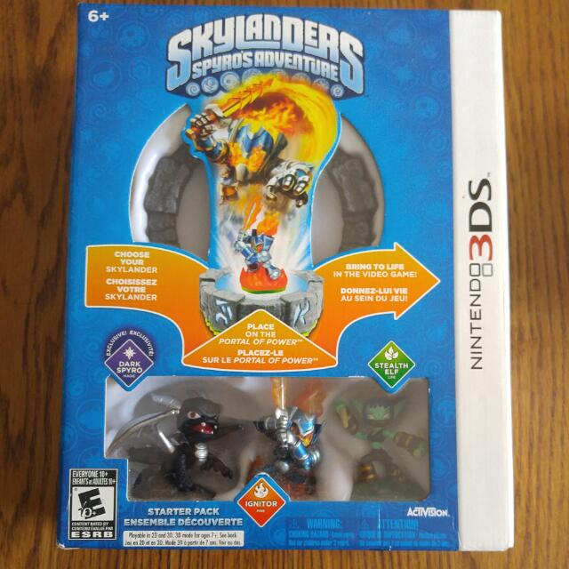 Skylanders Spyros Adventure Starter Pack For 3DS