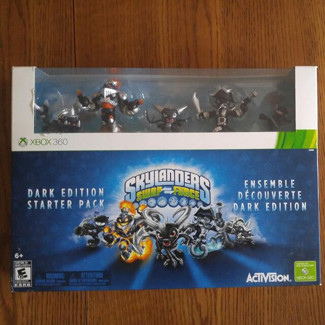 Skylanders Swap Force Dark Edition Starter Pack For Xbox 360
