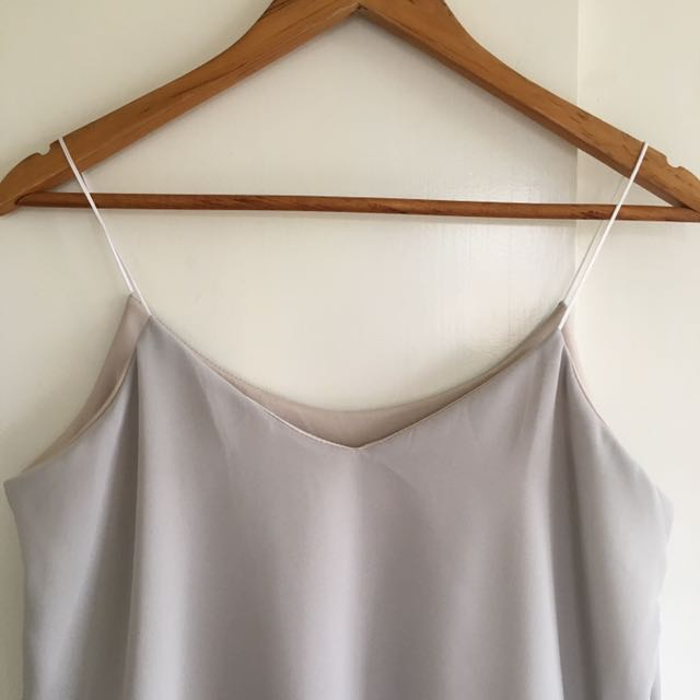 String Cami (Gray)