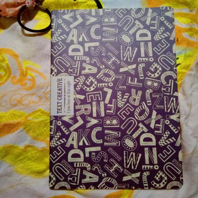 Text Creative Notebook