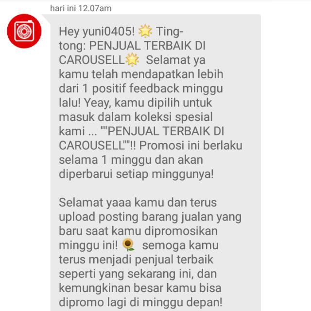 Thank U Carousell...❤❤