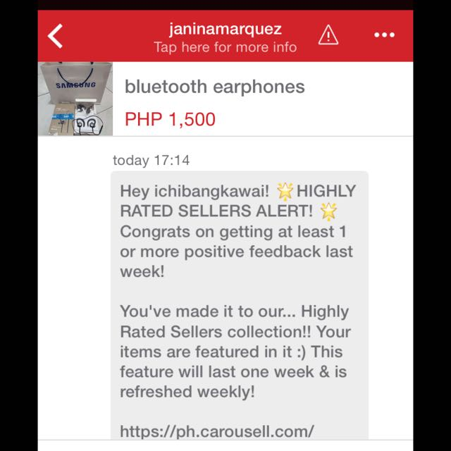 2nd Highly Rated Seller👍👊😁🎊🎉tnx Admin😘