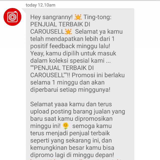 Thank You Carousell 😍💕