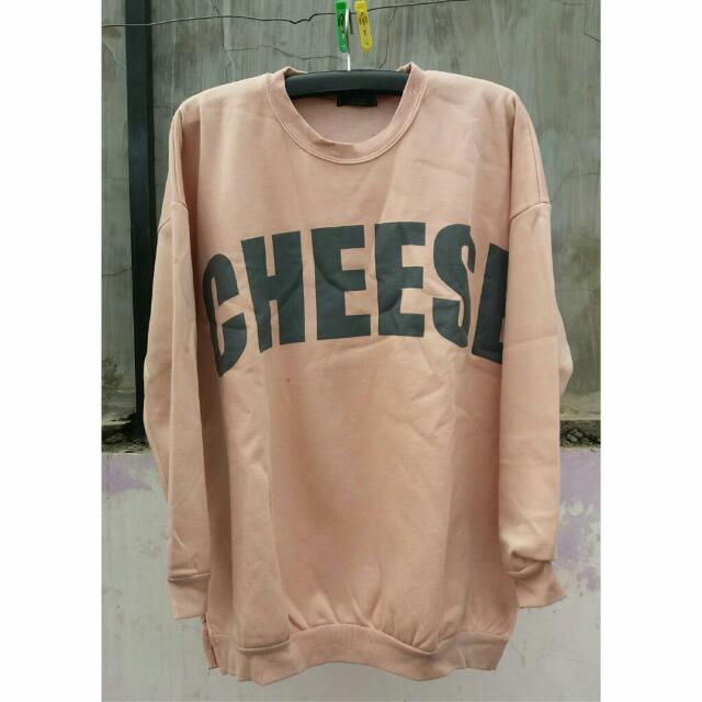 The Byul Cheese Sweater Made In Korea