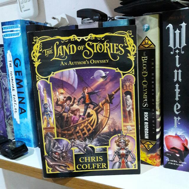 The Land of Stories #5: An Author's Odyssey by. Chris Colfer