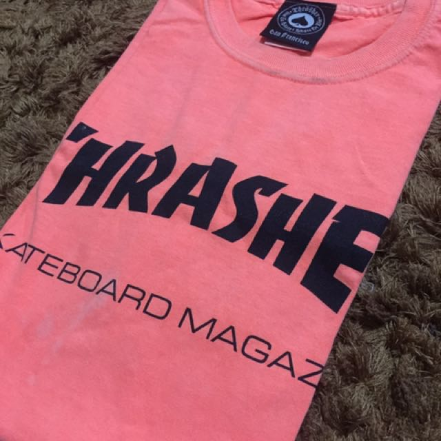 Thrasher Magazine T-Shirt Neon color sz M (used by me)