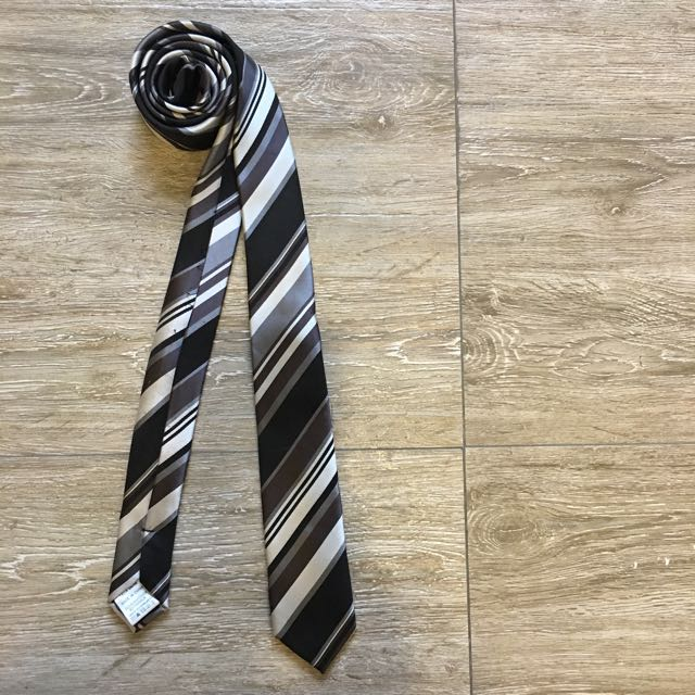 Topman Striped Silk Tie