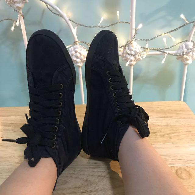 Topshop Zipper Sneakers