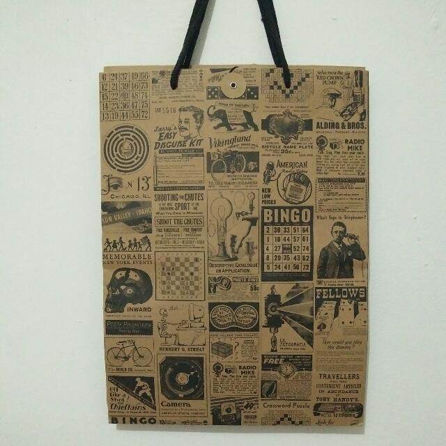 typo paperbag