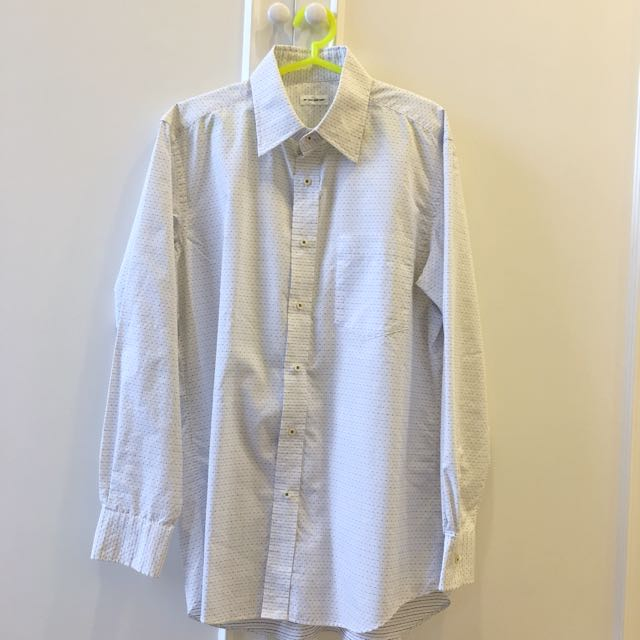 Uniqlo White Shirt/Top