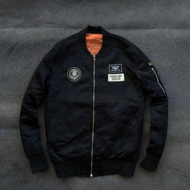 Unknown Bomber Ma-1 Fashion Jacket