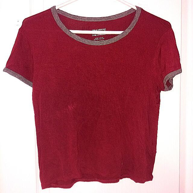 Urban Planet Ringer T Shirt