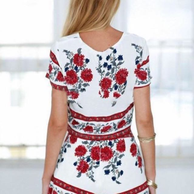 U.S Style 3D Floral Print Terno Set 🌺