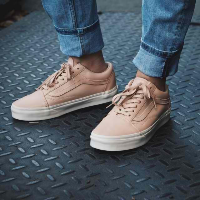 Vans Old Skool Nude Brown Leather