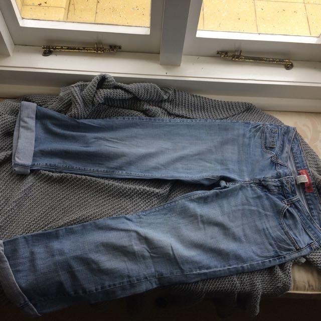 Vintage Jeansweat Boyfriend Jeans