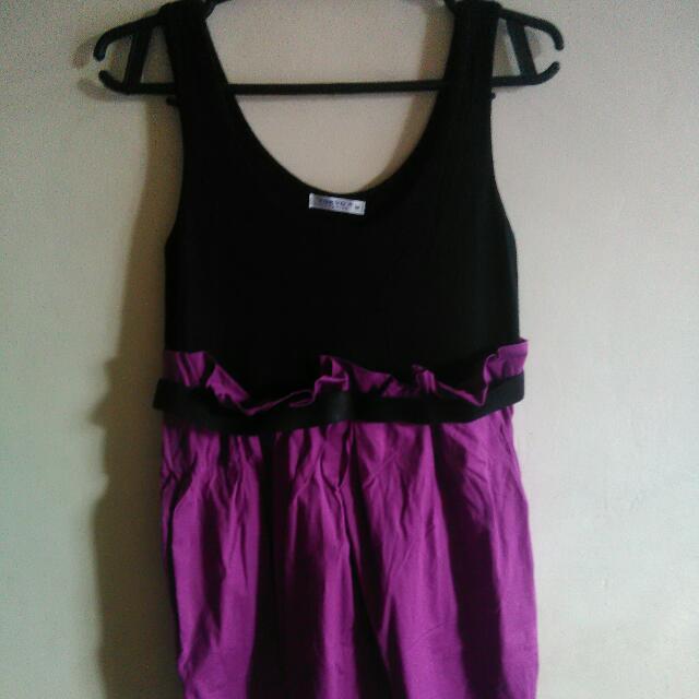 Violet Sleeveless Dress