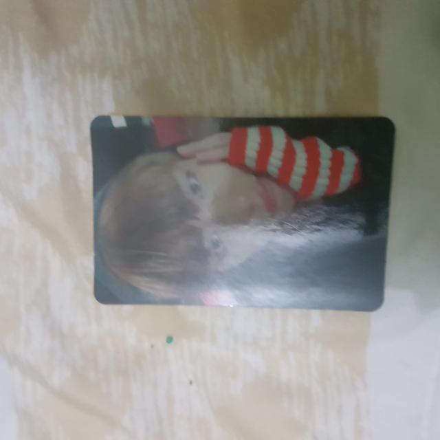 V/taehyung ynwa photocard
